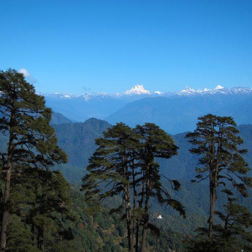Dochu-La-Pass, Himalayas