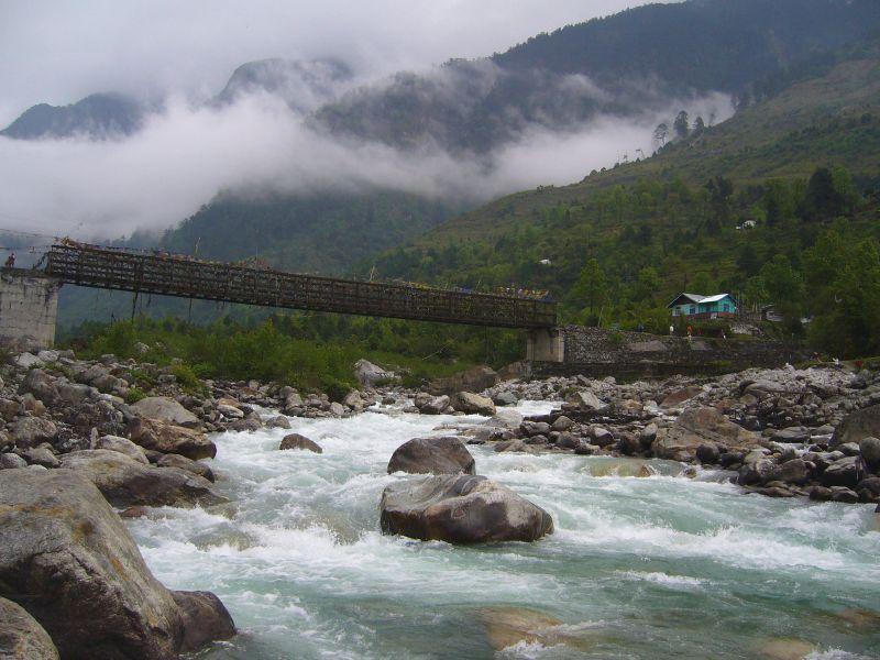 Lachung Chu River