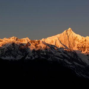 Mt. Everest, Sunset