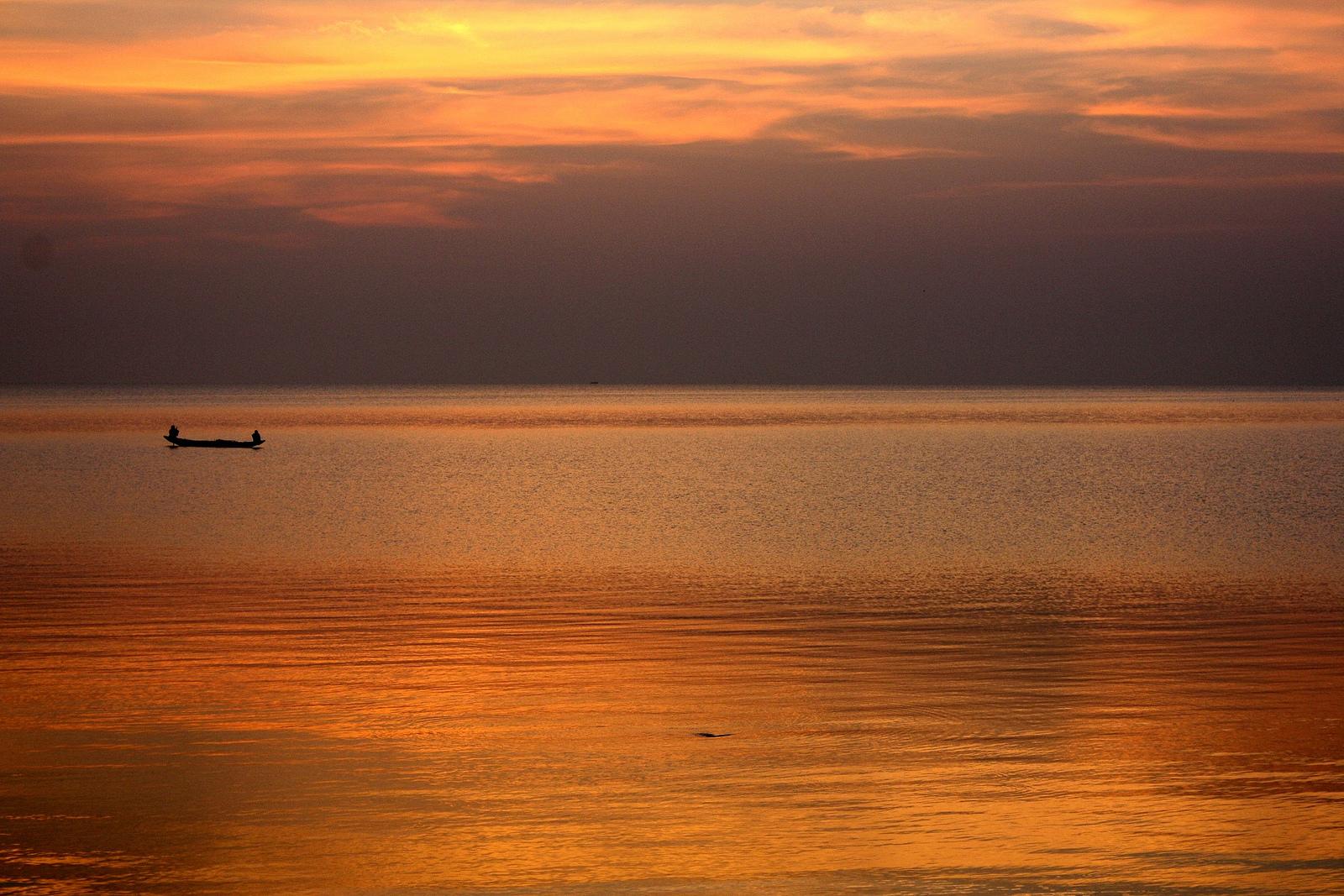 Chilika Lake, Sunset