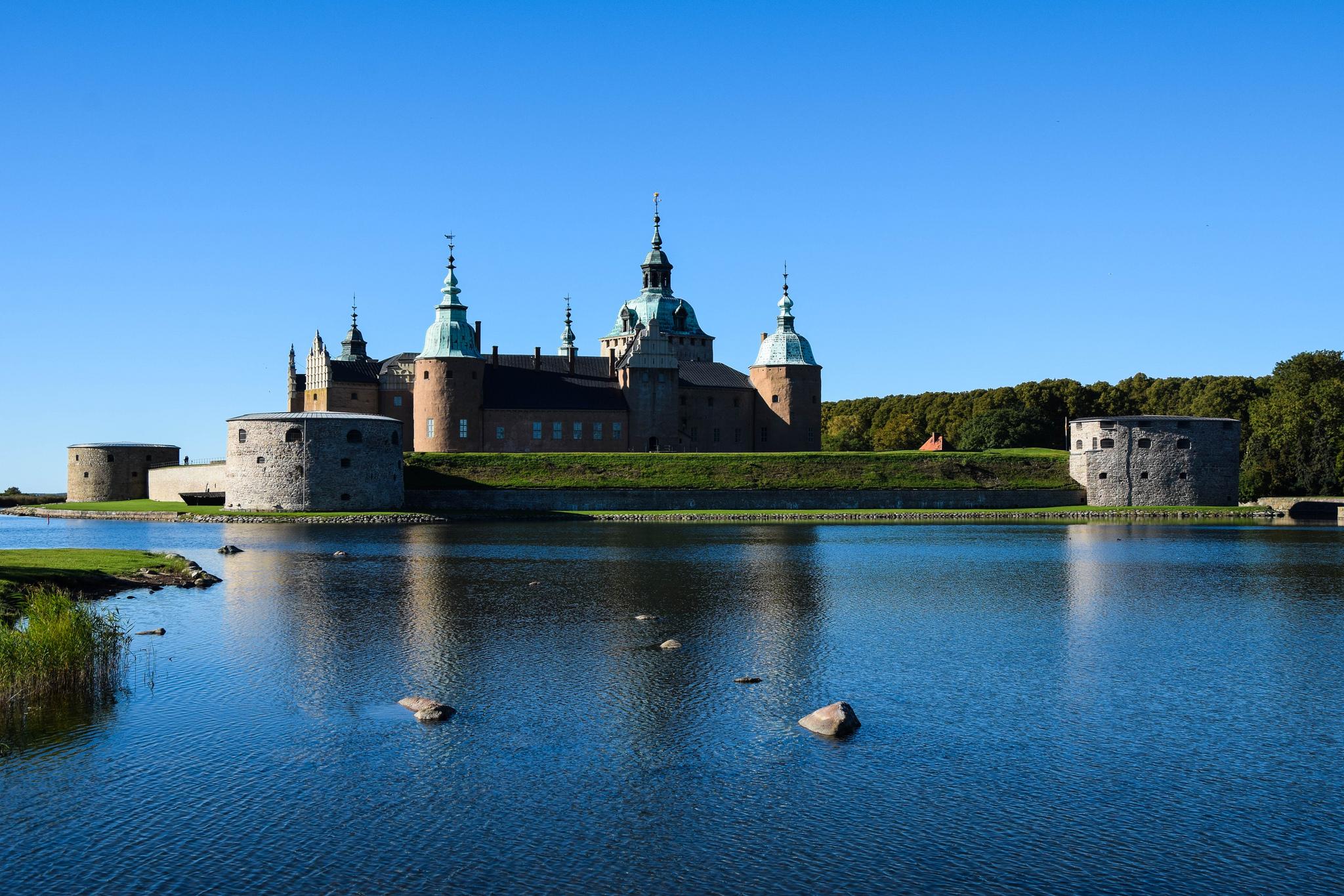 Castle, Kalmar, swden