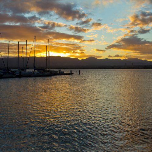 Sunset, Pearl Harbor