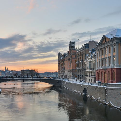 Winter, Stockholm